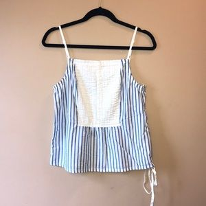 GAP Pinstripe Tank Top